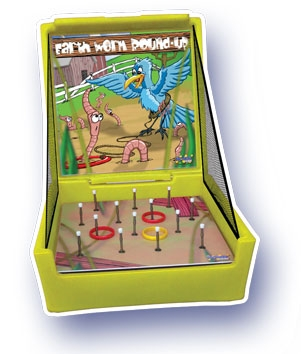 Earthworm Round Up game