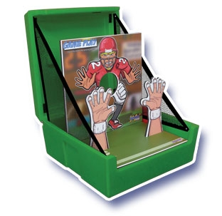 Game Play - Football Toss game