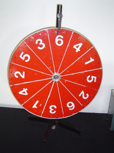 Wheel of Fortune, Spinning Wheel