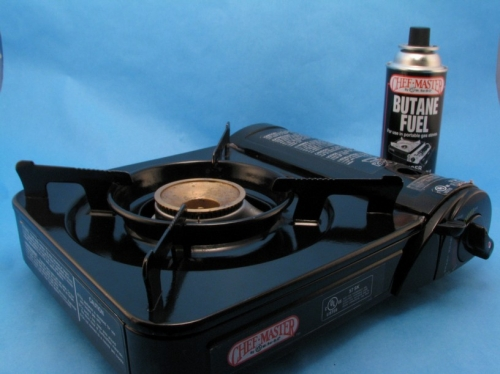 Stove, Tabletop Butane Burner