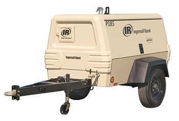 Air Compressor - Towable, 185 Cfm