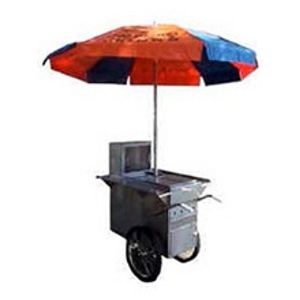 Hot Dog Push Cart
