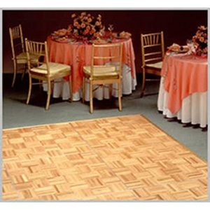 12' x 12' Oak Parquet Dance Floor