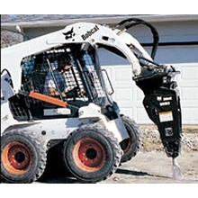 Skid Steer Loader w/ Breaker