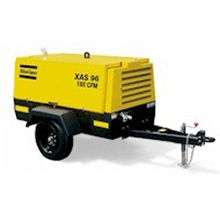 Air Compressor w/ Jackhammer