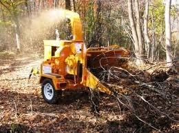 Wood Chipper, 6 inch 30 hp