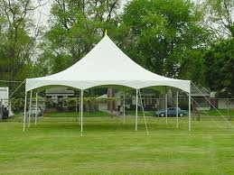 Elite 30 x 30 Party Canopy White