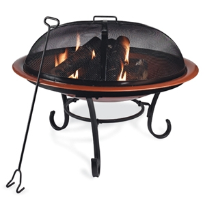 Four Seasons Courtyard Steel Firepit