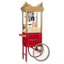 Concession Popcorn Machine (6 oz. w/ Cart)