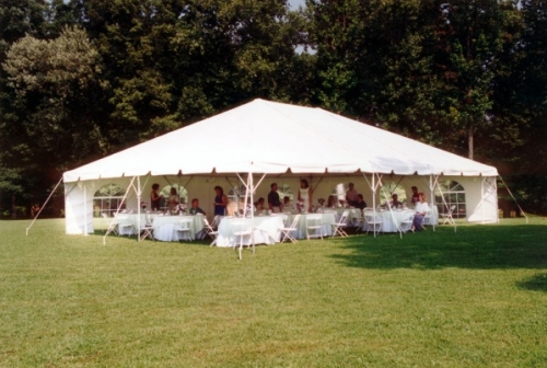 Tent 20u0027 x 30u0027 Frame White & Tent 20u0027 x 30u0027 Frame White | Taylor Rental Center of Wellesley MA