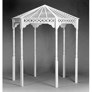 B&C Mortensen Gazebo with Rails