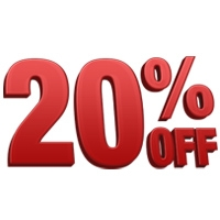 Indoor Projects Special: 20% OFF These Rentals