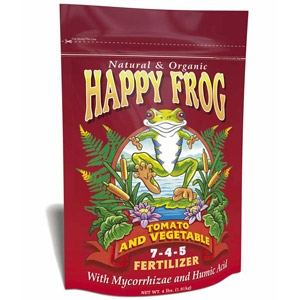 Happy Frog Organic Tomato & Vegetable Fertilizer 7-4-5