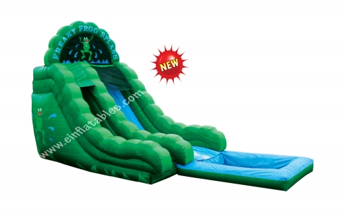 Einflatables Freaky Frog inflatable slide