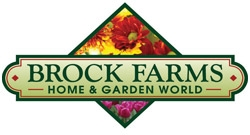 Brock Farms Home & Garden World Logo