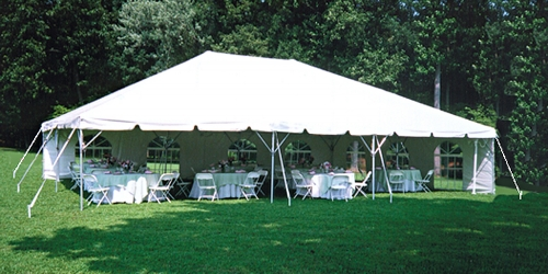 20u0027 x 50u0027 Frame Tent & 20u0027 x 50u0027 Frame Tent | Taylor Rental Party Plus of Pittsburgh PA