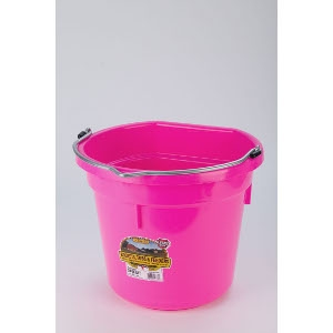 Flat Back Bucket - Hot Pink