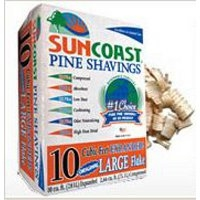 Suncooast Pine Shavings Large Flakes 10 cu. ft.