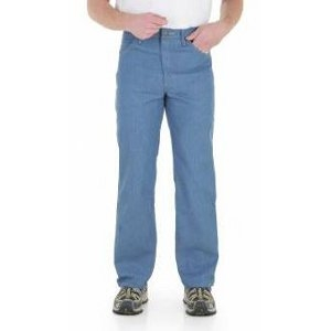 39056 Wrangler Rugged Wear® Stretch Jean - Light Blue
