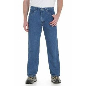 35005 Wrangler Rugged Wear® Stretch Jean - Stonewashed
