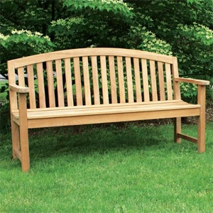 Jewels of Java English Garden Bench