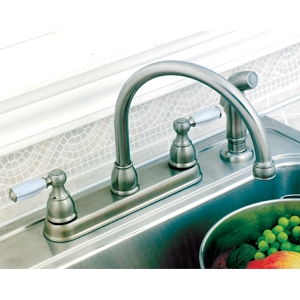 Delta 2 Handle Kitchen Faucet Morristown Lumber