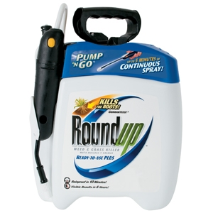 RoundUp RTU Plus Pump N' Go Weed and Grass Killer
