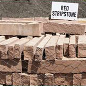 Red Stripstone