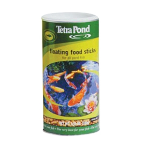 TetraPond Fish Food Sticks, 4.94 Oz.