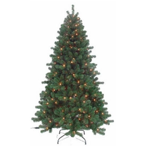 4' Piedmont Fir Artificial Tree With 100 Multi Lights