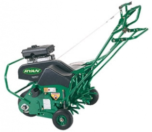 Ryan Walk-Behind Gas Aerator, 3 HP engine