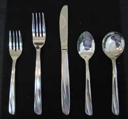 Tivoli Swirl Flatware Set - Daily Rates Listed Below