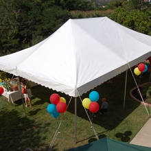 20 x 30 White Canopy Tent