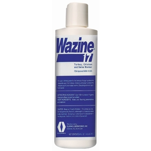 Fleming Labs Wazine 17 Poultry & Swine Wormer