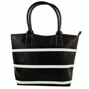 Catherine Lillywhite's Classic Striped Tote Bag
