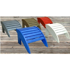C.R. Plastic Products Adirondak Footstool