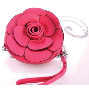 Noelle Enterprises Rose Wristlet Key Bag