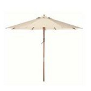 Bond 9' Wooden Market Umbrella in Natural