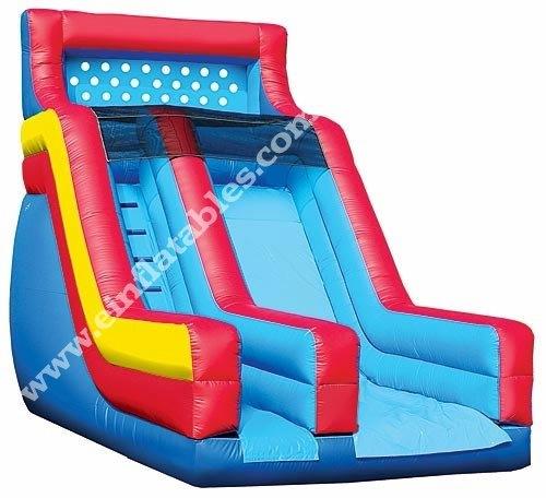 16ft. Backyard Inflatable Dry Slide