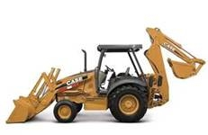 Case 580M Rubber Tire Backhoe