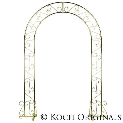 WEDDING ARCH, BRASS