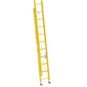 Werner Type 1A Fiberglass Extension Ladder 24ft
