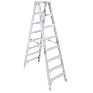Werner Model T408 8ft Double Sided Step Ladder