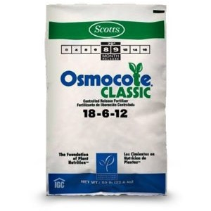 Scotts Osmocote 18-6-12 50lb. Bag