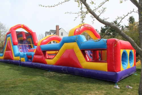 68' Inflatable Obstacle Course