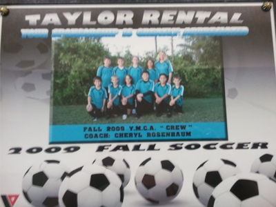 2009 Fall Soccer Team-
