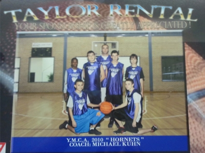 2010 Basketball Team-