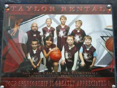 2010/2011 Fall Basketball Team-