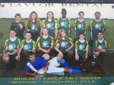 2010/2011 Fall Soccer Team-