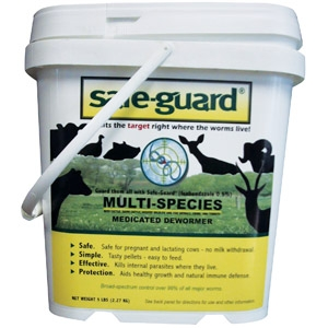 Safeguard 0.50% Multi-Species Dewormer